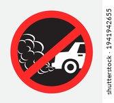 No Idling Turn Engine Off Sign...