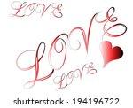 love | Shutterstock .eps vector #194196722