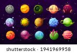 fantastic planets in space...
