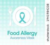 food allergy awareness week...   Shutterstock .eps vector #1941984238