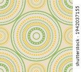 asian folk motifs seamless... | Shutterstock .eps vector #1942037155