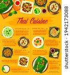 thai food menu  thailand... | Shutterstock .eps vector #1942173088