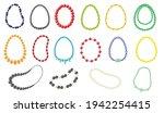 women necklace vector... | Shutterstock .eps vector #1942254415