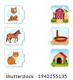 matching children educational... | Shutterstock .eps vector #1942255135