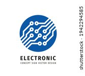 electronic technology   vector...   Shutterstock .eps vector #1942294585