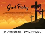 good friday banner and poster....   Shutterstock .eps vector #1942494292