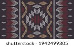 ethnic abstract square pattern...   Shutterstock .eps vector #1942499305