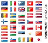 collection of country flags... | Shutterstock .eps vector #194265218
