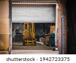 Old Yellow Fork Lift Truck...