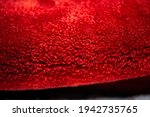 woolen background  isolated red ... | Shutterstock . vector #1942735765