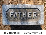Father Carved In The Top Of A...