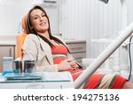 woman at the dentist for dental ... | Shutterstock . vector #194275136