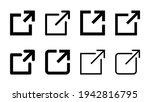 external link icon set. link... | Shutterstock .eps vector #1942816795