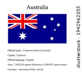australia national flag ...   Shutterstock .eps vector #1942962355