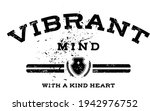 vibrant mind quoted slogan...   Shutterstock .eps vector #1942976752