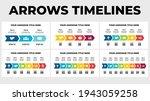 arrows timelines vector... | Shutterstock .eps vector #1943059258