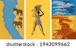african landscapes  vertical... | Shutterstock .eps vector #1943099662