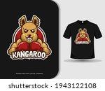 Kangaroo Sport Boxing Animal...