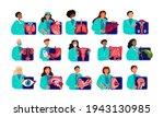 team of different doctors...   Shutterstock .eps vector #1943130985