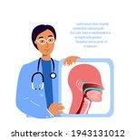 ent doctors scientists examine... | Shutterstock .eps vector #1943131012