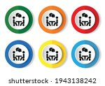 conference vector icons set on... | Shutterstock .eps vector #1943138242