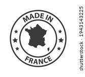 made in france icon. stamp made ...   Shutterstock .eps vector #1943143225
