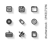 design flat icons for web and...