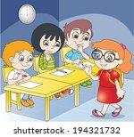 lesson   Shutterstock .eps vector #194321732