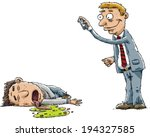 a businessman snaps a photo of... | Shutterstock .eps vector #194327585