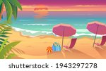summertime vacation at sea... | Shutterstock .eps vector #1943297278