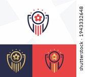 soccer club emblem. football... | Shutterstock .eps vector #1943332648