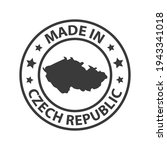 made in czech republic icon....   Shutterstock .eps vector #1943341018