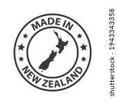 made in new zealand icon. stamp ... | Shutterstock .eps vector #1943343358