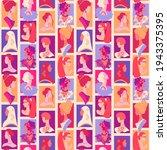 women empowerment seamless... | Shutterstock .eps vector #1943375395