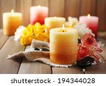 Beautiful Candles With Flowers...