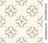 vector geometric floral... | Shutterstock .eps vector #1943487622