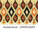 geometric ethnic oriental ikat... | Shutterstock .eps vector #1943513635