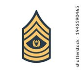 sma sergeant major of army... | Shutterstock .eps vector #1943590465