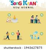 songkran festival 2021. new...   Shutterstock .eps vector #1943627875