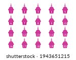 birthday cake toppers   cute... | Shutterstock .eps vector #1943651215