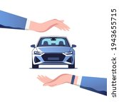 ar insurance  concept. safety... | Shutterstock .eps vector #1943655715