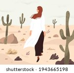 person feeling lost and alone ... | Shutterstock .eps vector #1943665198
