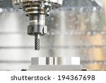 milling machine tool with mill... | Shutterstock . vector #194367698