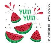 banner summer mood juicy...   Shutterstock .eps vector #1943704702