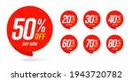 different percent discount... | Shutterstock .eps vector #1943720782