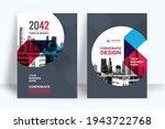 corporate book cover design... | Shutterstock .eps vector #1943722768