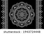 set of mandala pattern and... | Shutterstock .eps vector #1943724448