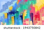 artistic painting of abstract... | Shutterstock .eps vector #1943750842