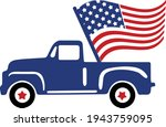 4th Of July Svg Vector...