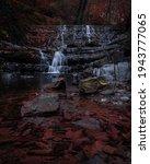 beautiful mystic waterfalls in... | Shutterstock . vector #1943777065
